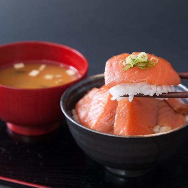ゾロ目の日 11%OFF! 丼ぶり 丼 サーモン 鮭 トロサーモン漬け丼の素5人前 とろさーもん とろサーモン 冷凍A|toretate1ban|02