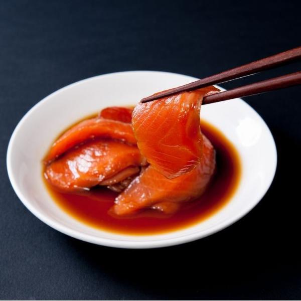 ゾロ目の日 11%OFF! 丼ぶり 丼 サーモン 鮭 トロサーモン漬け丼の素5人前 とろさーもん とろサーモン 冷凍A|toretate1ban|04