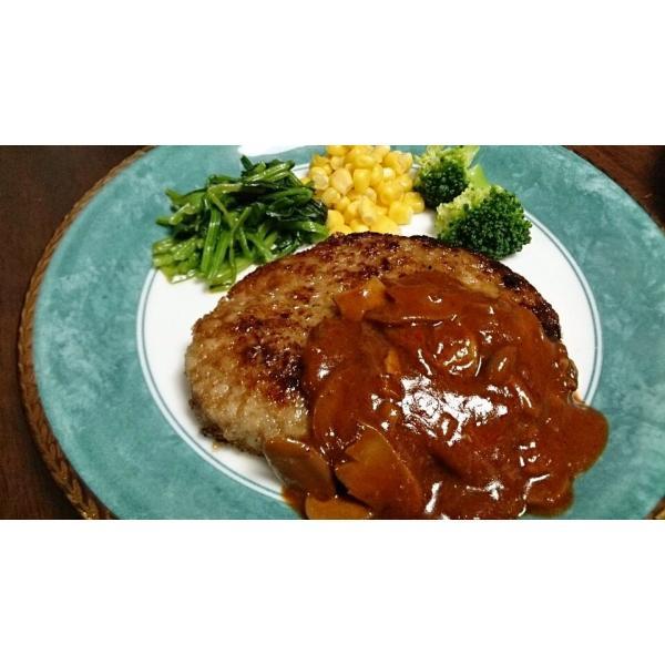 ハンバーグ 牛肉 お肉 肉 焼き肉 bbq バーベキュー テレビで話題の牛肉100%牛生ハンバーグ190g×10個入|toretate1ban|03