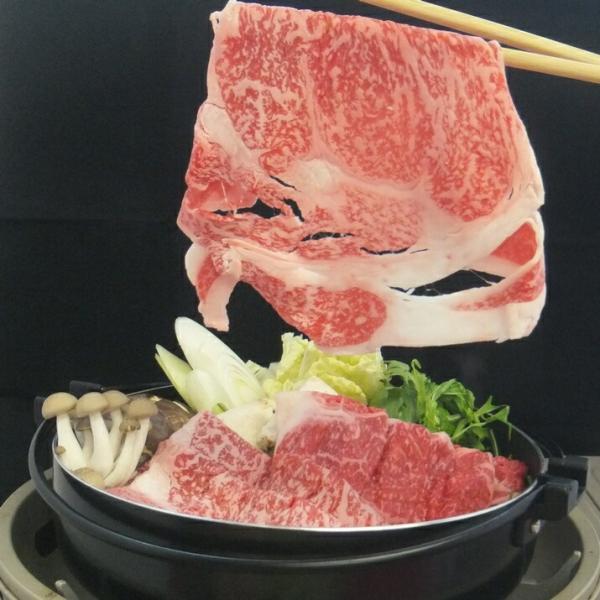 グルメ 飛騨牛 牛肉 お肉 肉 すき焼き しゃぶしゃぶ 送料無料 A5等級 ロース200g+モモ200g カット|toretate1ban