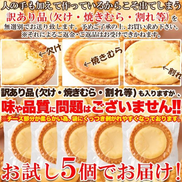 クーポン ポイント消化 訳あり 濃厚チーズタルト 5個 送料無料 メール便|toretate1ban|06