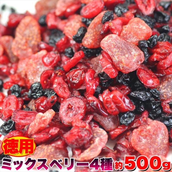 お中元 2021 プレミアム 訳あり わけあり ベリー 徳用ミックスベリー4種500g フルーツを食べて内側からのケアをサポート