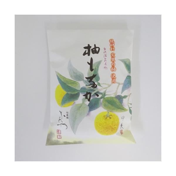 旬菓庵かどや 柚もなか[ゆずもなか](6個入)袋入