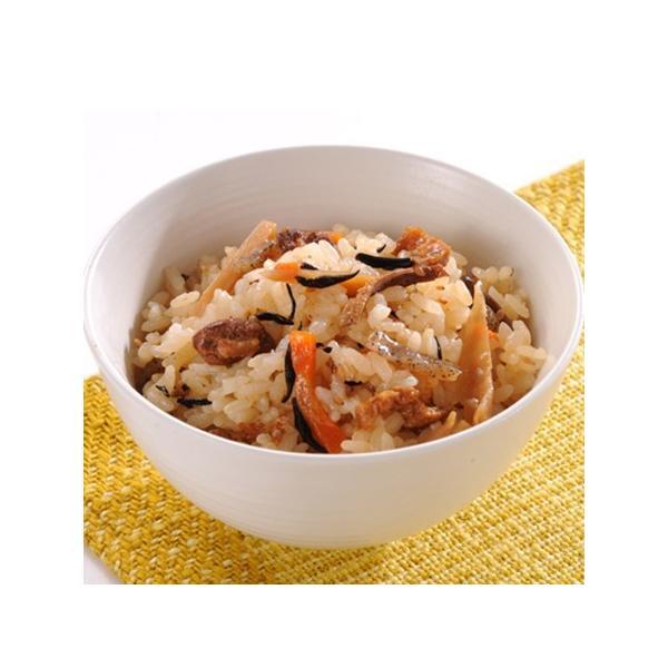 鶏十目ご飯の素 500g(1升用)×2パック 具材感たっぷりのおいしいごはんをいただけます。