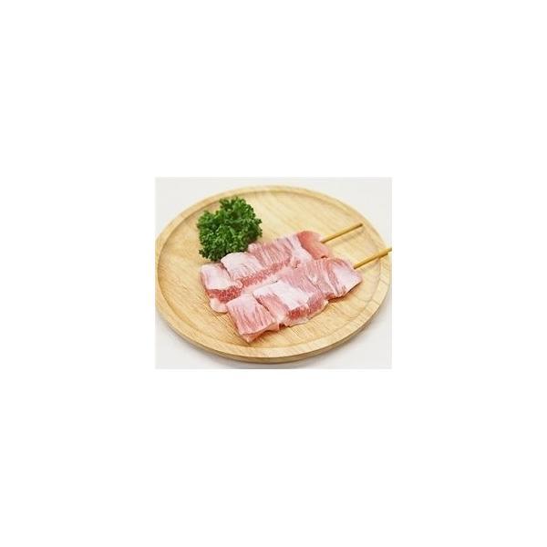 豚トロ串 40g×20本 外国産豚 (15cm丸串)(やきとん)