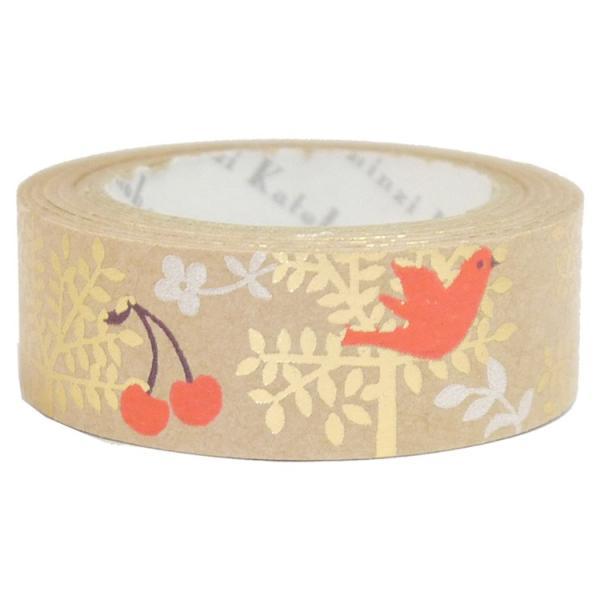 【shinzi katoh】クラフトデザインテープtree and birds|torimura
