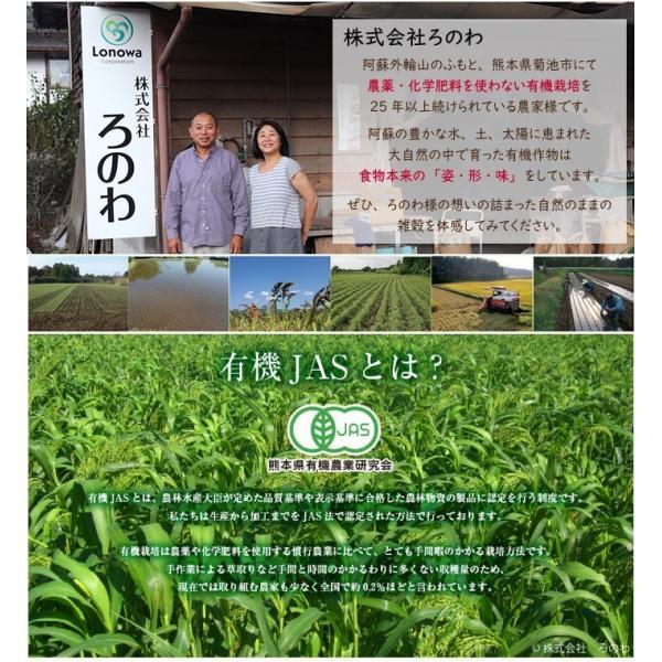 【熊本県産】有機JAS認定品 粟の穂 50g 2019年産 ※ろのわ赤ラベル※|torimura|02