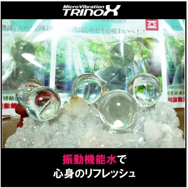 TRINOX トリノックス マイクロウェーブ クリスタルボール 20mm 2個 セット 振動水 ワイン お酒 永久微細振動 ペットボトル用 クリスタルボール 振動水 torinox-store