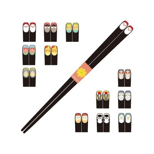 (KOTORITACHI)インコ箸 12種類(メール便)|torippie