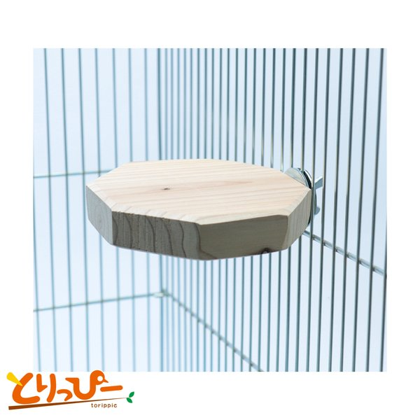 インコのおもちゃ 国産天然シラカバの木で作ったおやすみボード(大)|torippie|02