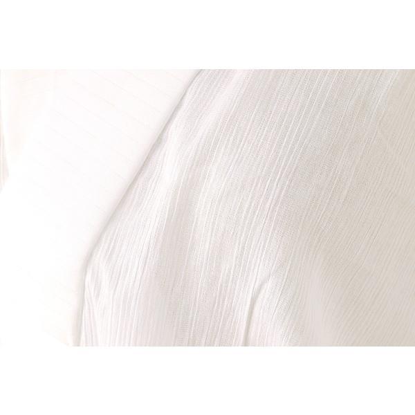 itomi長襦袢 新真夏の長襦袢白 M Lサイズ ワンピース 一部式 仕上がり品 肌半衿付和装下着物 ito レディース 着物 浴衣 和装下着 長襦袢