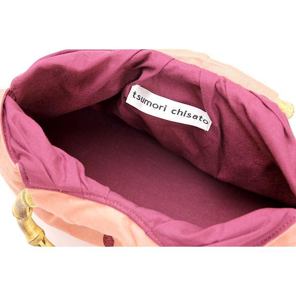 ツモリチサト巾着カゴバッグ 浴衣用 ブランド 浴衣 女物 祭り レディース 猫 和装バッグ 巾着