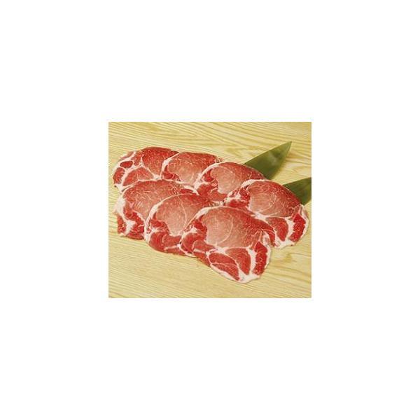 冷凍食品 豚肩ローススライス 500g(2mmスライス)