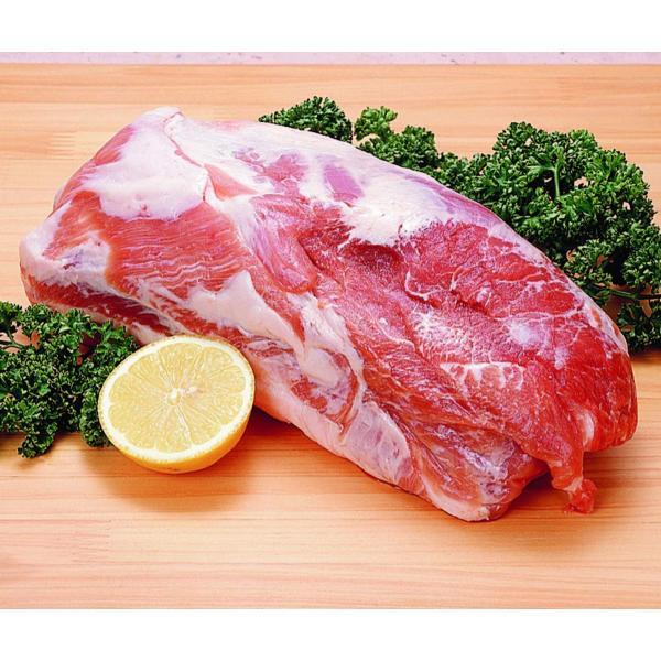 冷凍食品 豚肩ロース 1ブロック2kg