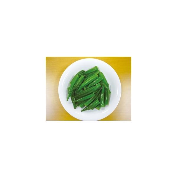 冷凍野菜 冷凍オクラ 中国産)オクラホール(M)500g