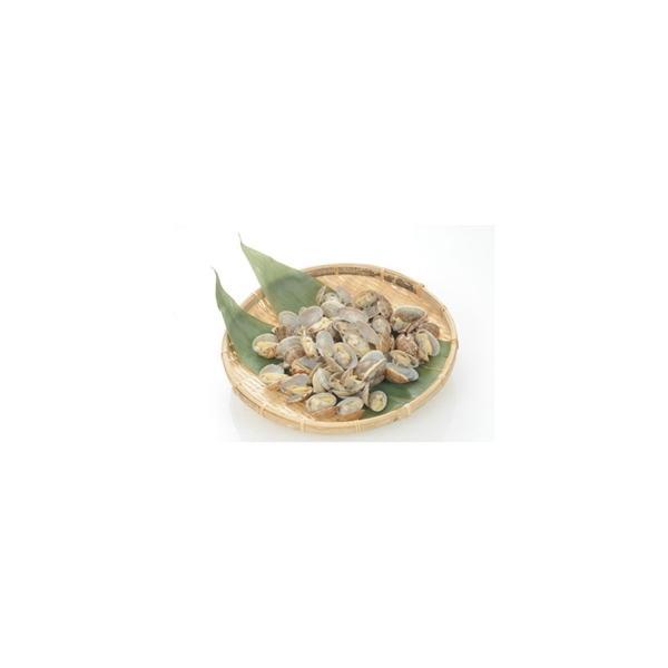 冷凍食品 マリンデリカ)殻付あさり 500g(51-60粒入)