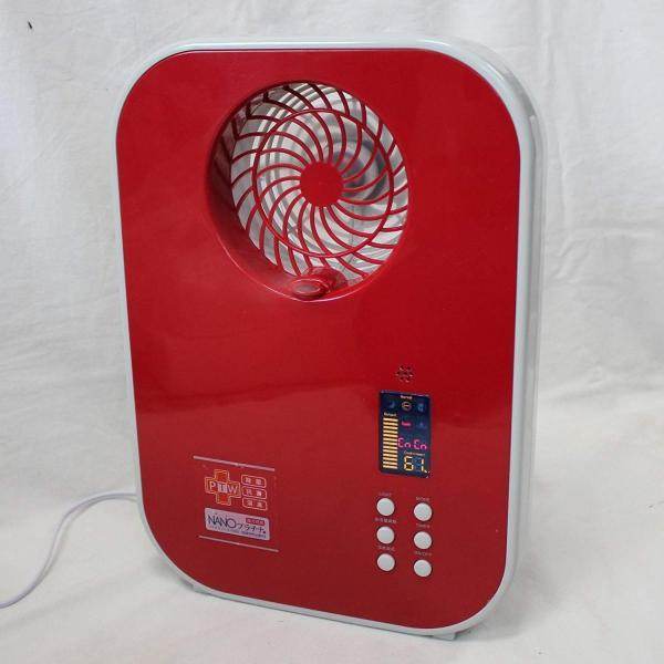 COCORO@mode ファン搭載 超音波式 加湿器 レッド タンク約2.1L タイマー付 NC41071