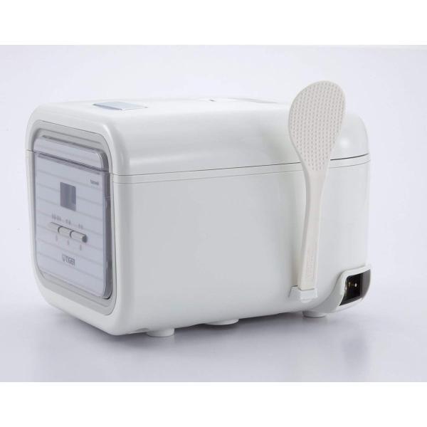 タイガー マイコン 炊飯器 3合 シンプルホワイト レシピ付 tacook 炊きたて 炊飯 ジャー JAJ-A552-WS Tiger|totasu888|07