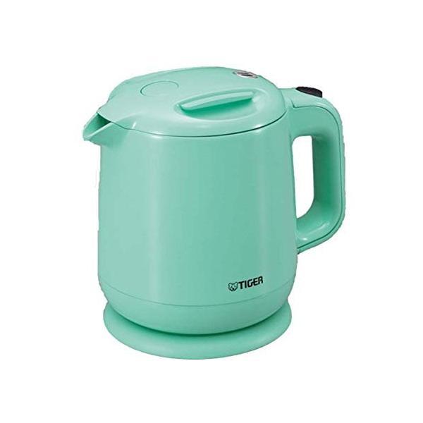 飲みたいときにサッと沸く TIGER 電気ケトル 0.8L(フッ素加工内容器)アクアブルー PCE-A080-AA totasu888 02