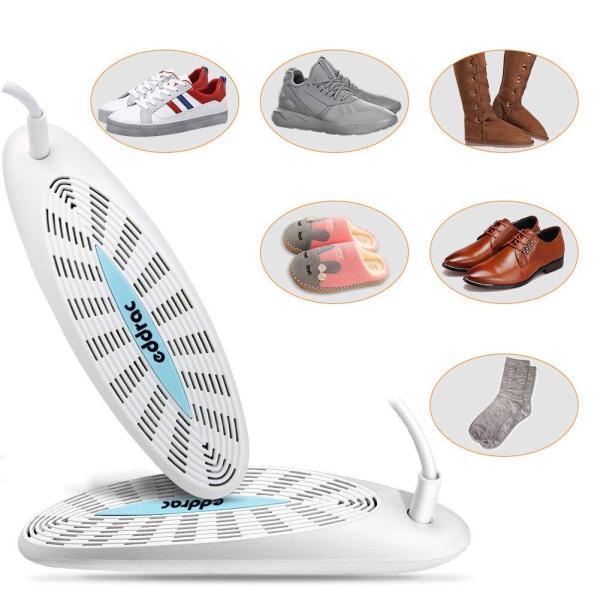 Kource くつ乾燥機 双核靴乾燥機 オゾン抗菌消臭 除湿機 靴の匂いを防いで消毒 各種類のシューズに対応 梅雨や雪や曇り日等の天気に対応