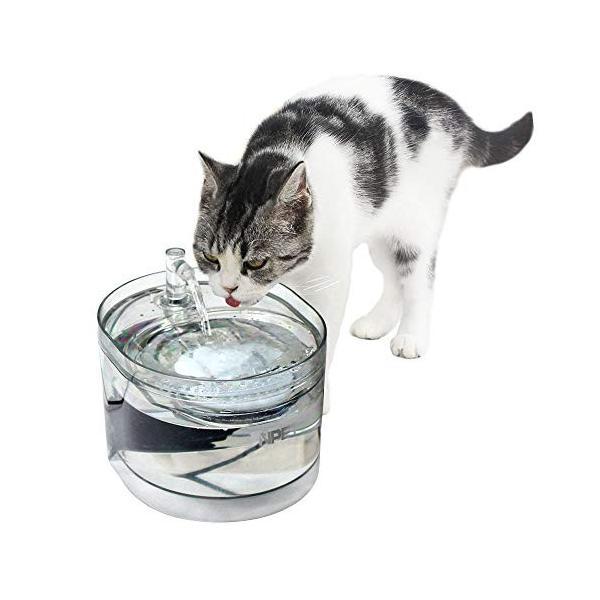 2019年最新型 NPET ペット自動給水器 WF030 猫 犬 水飲み器 循環式 超静音 活性炭フィルター 安全材質 簡単掃除 お留守番対 totasu888