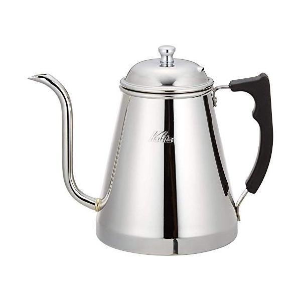 カリタ(Kalita) コーヒーポット ステンレス製 IH対応 1.0L #52077|totasu888|02