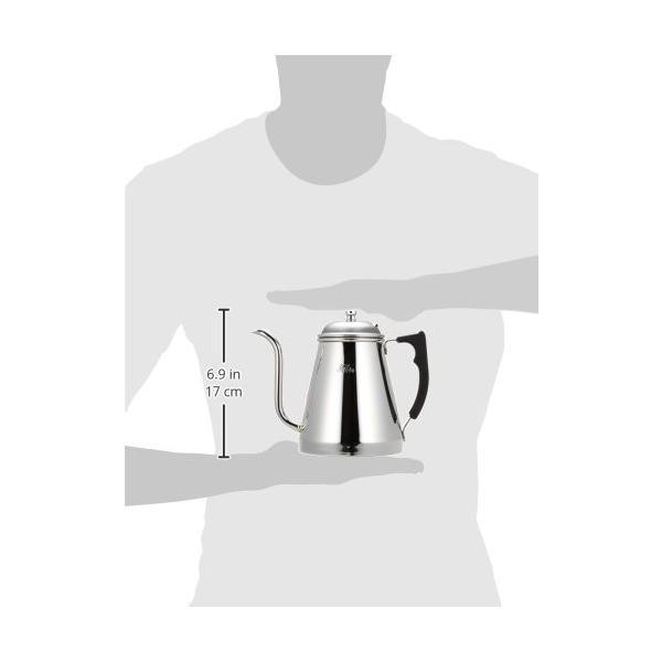 カリタ(Kalita) コーヒーポット ステンレス製 IH対応 1.0L #52077|totasu888|04