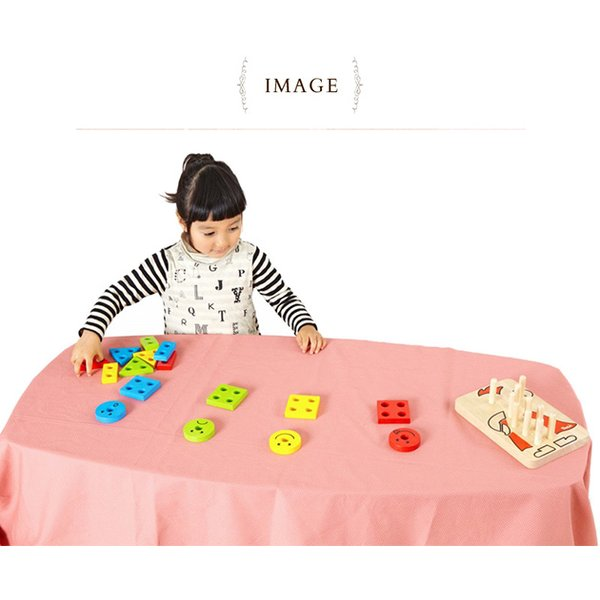 木製玩具 木のおもちゃ パズル 組み合わせ 知育 Voila ボイラ カラフルクラウン 【ラッピング対応】 tougenkyou 06