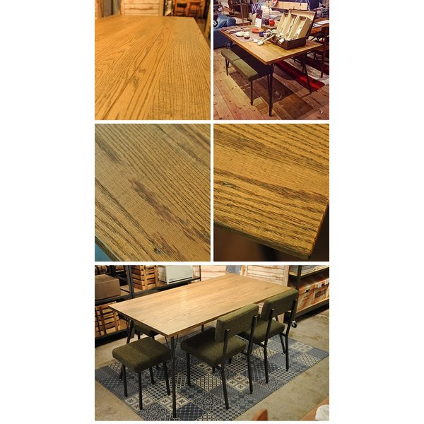 ダイニングテーブル 無垢 おしゃれ 150cm ジャーナルスタンダードファニチャー SENS サンク ダイニングテーブル M 幅150cm tougenkyou 02
