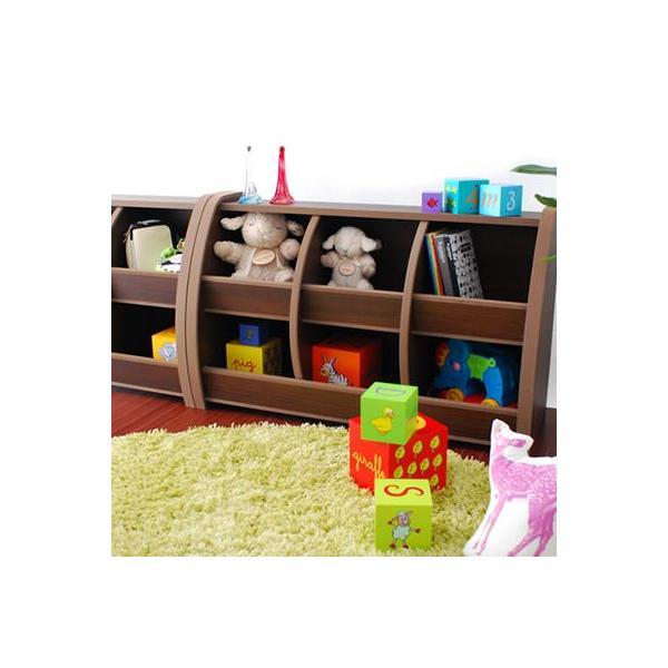 おもちゃ箱/収納ラック/Curios/EVAキッズトイボックス95(ウォールナット)|tougenkyou|02