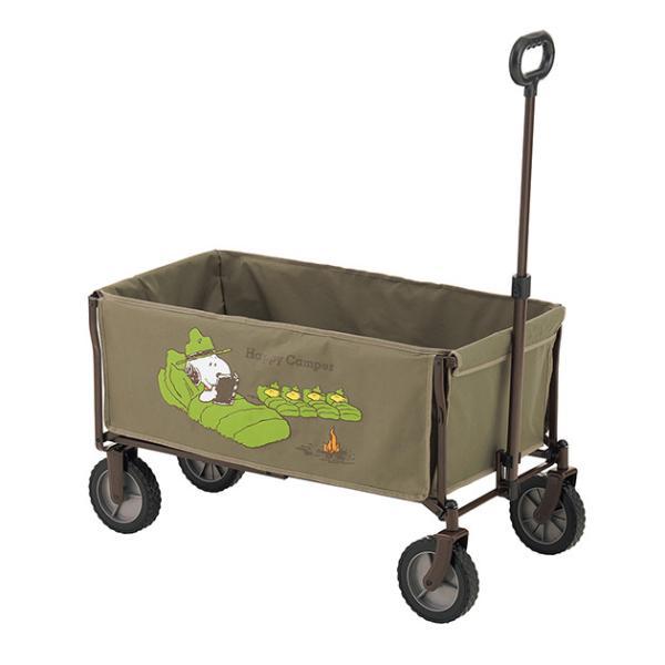 キャリーカート リヤカー 荷台 台車 LOGOS ロゴス スヌーピー キャリーカート
