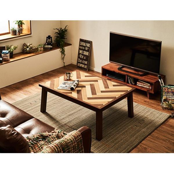 こたつ コタツ テーブル 長方形 おしゃれ こたつテーブル ヘリンボーン調 幅105cm 長方形|tougenkyou|11
