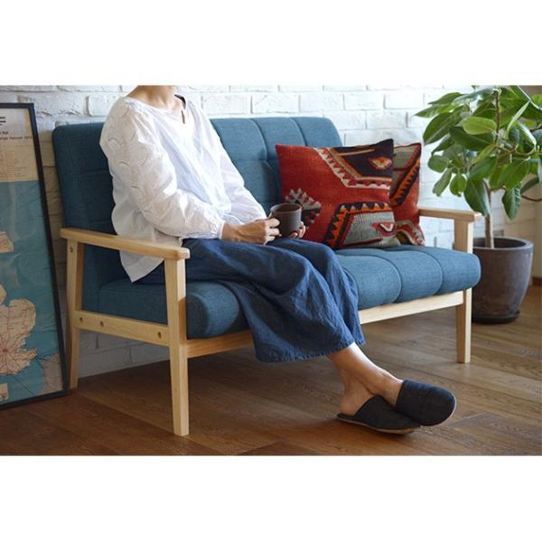ソファー 2人掛け 布張り ファブリック Bateau 2P sofa 【ノベルティ対象外】|tougenkyou|03