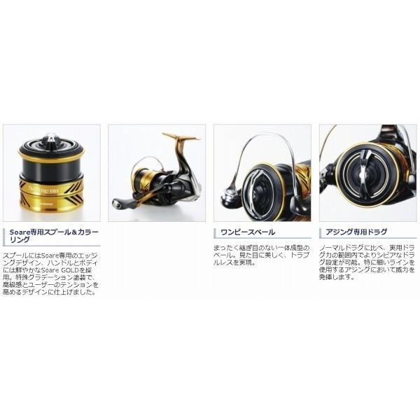 SHIMANO 18 Soare BB 500S Spinning Reel Japan New