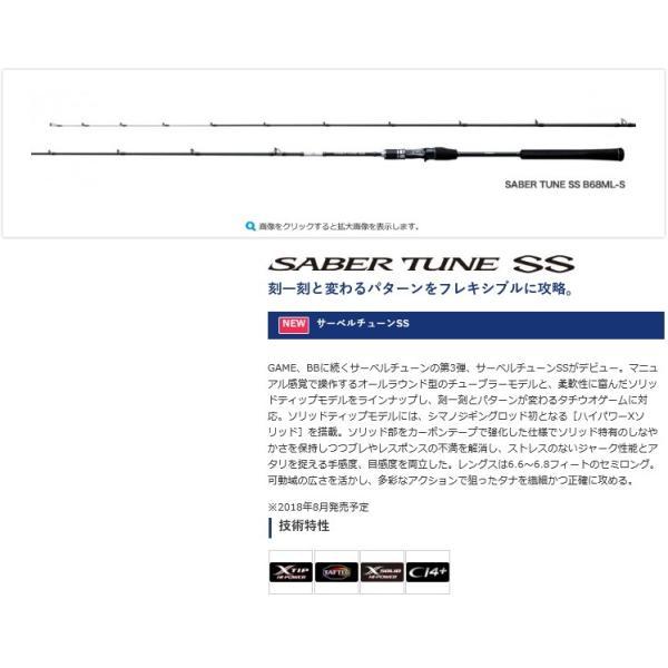 サーベルチューンSS B66M シマノ SHIMANO
