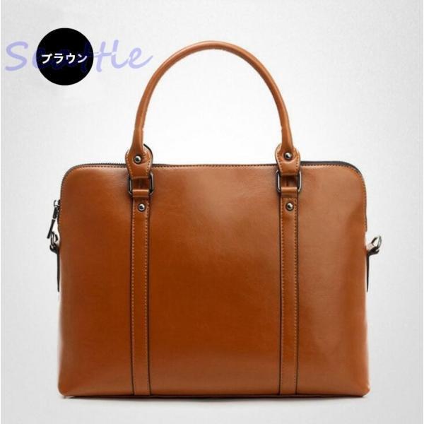 ブリーフケース レディース 本革 牛革 ビジネスバッグ ハンドバッグ 通勤バッグ 手提げ 軽量 レディースバッグ 鞄  大容量