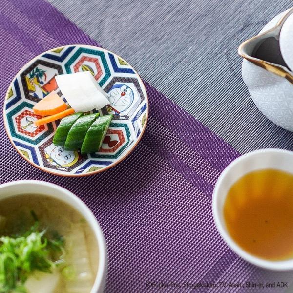 九谷焼 5柄から選べるドラえもん小皿<和食器  小皿 豆皿 贈り物 プレゼント /> toulife 02
