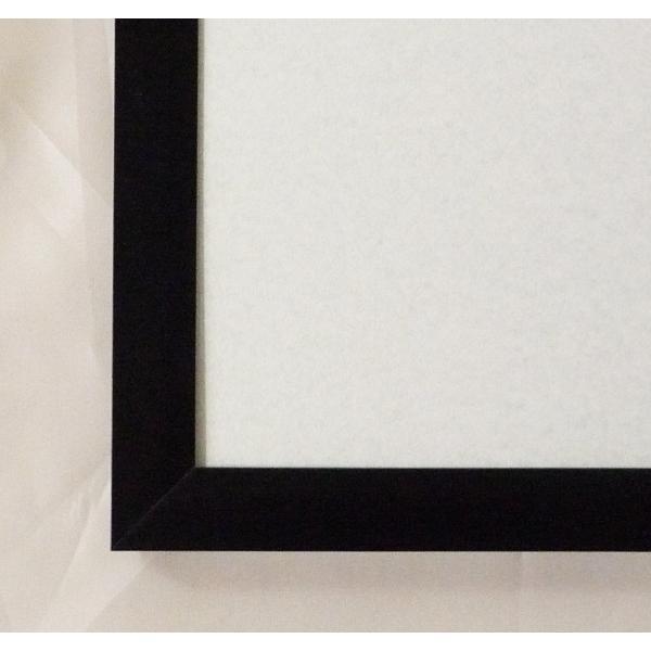 額縁 OA額縁 ポスター額縁 アルミフレーム Jパネル サイズ600X500mm ブラック|touo|02