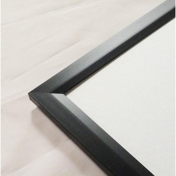 額縁 OA額縁 ポスター額縁 アルミフレーム Jパネル サイズ600X500mm ブラック|touo|03