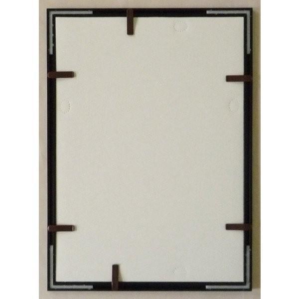額縁 OA額縁 ポスター額縁 アルミフレーム Jパネル サイズ600X500mm ブラック|touo|04