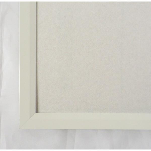 額縁 OA額縁 ポスター額縁 アルミフレーム Jパネル サイズ700X500mm ホワイト|touo|02