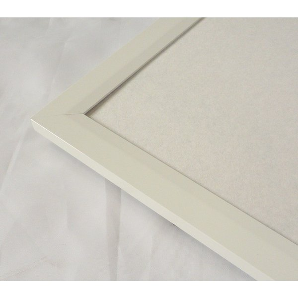 額縁 OA額縁 ポスター額縁 アルミフレーム Jパネル サイズ700X500mm ホワイト|touo|03