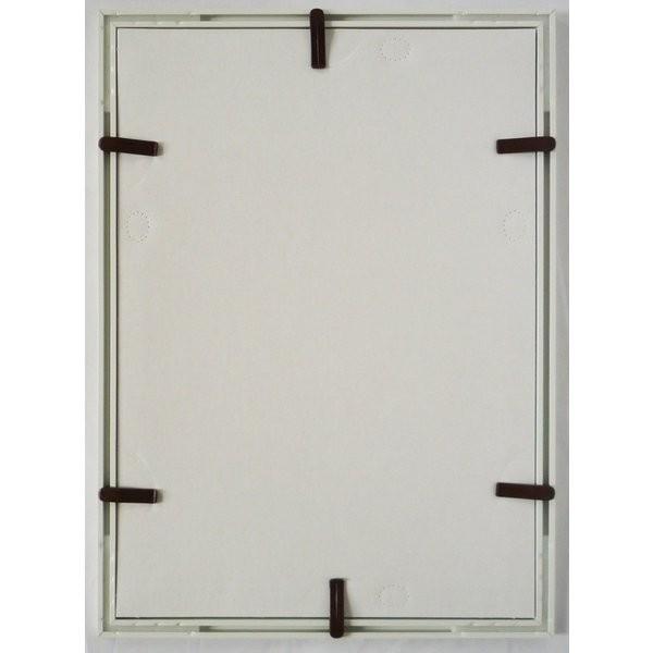 額縁 OA額縁 ポスター額縁 アルミフレーム Jパネル サイズ700X500mm ホワイト|touo|04