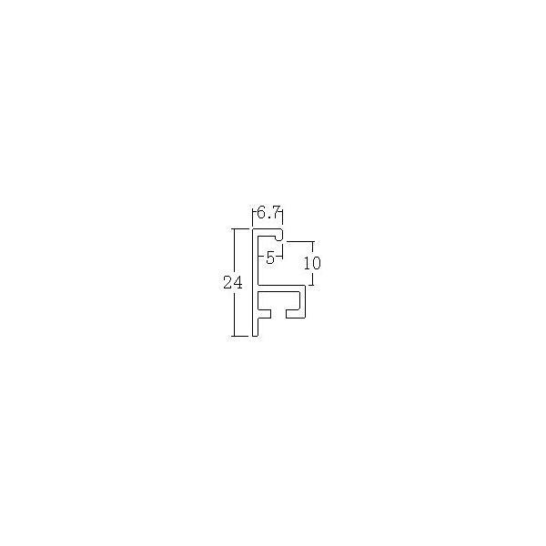 額縁 正方形の額 木製フレーム アルミ製 T-25 サイズ800画|touo|03