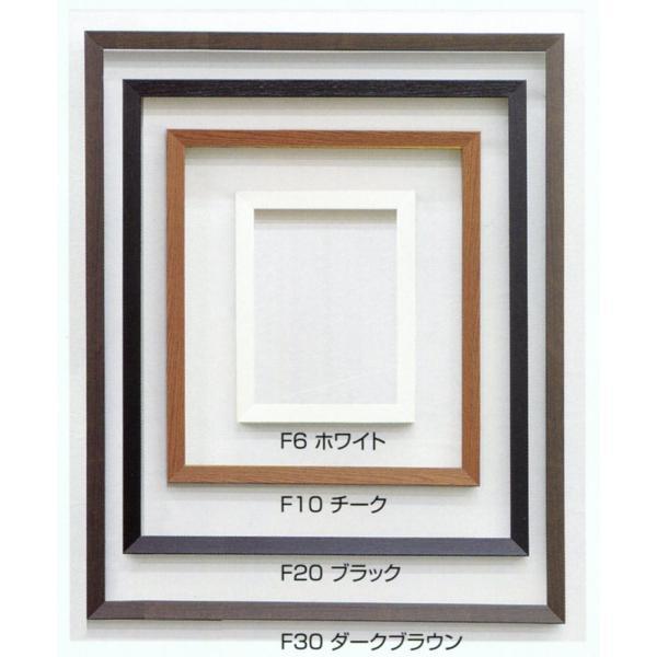 額縁 油彩額 油絵額縁 木製フレーム 仮縁 仮縁 出展用木製仮縁 3485 サイズF15号 P15号 M15号|touo|02