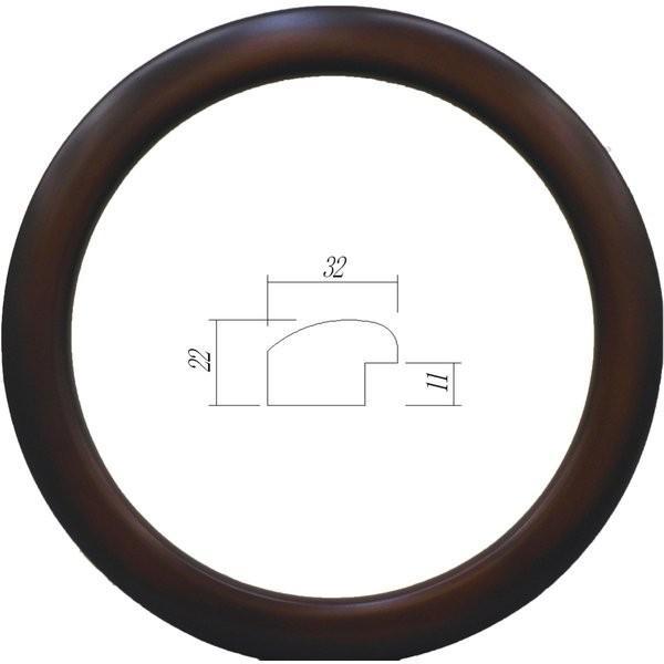額縁 円形額縁 木製フレーム 5630 正円300mmサイズ|touo