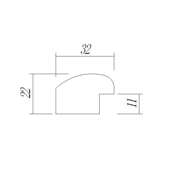 額縁 円形額縁 木製フレーム 5630 正円300mmサイズ|touo|02