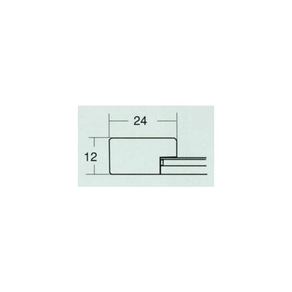 額縁 画用紙額縁 木製フレーム 6502 八ッ切サイズ 8枚1カートン|touo|04