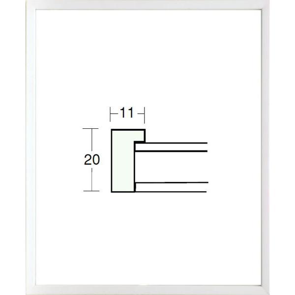額縁 デッサン額縁 木製フレーム 5382 八ッ切サイズ|touo