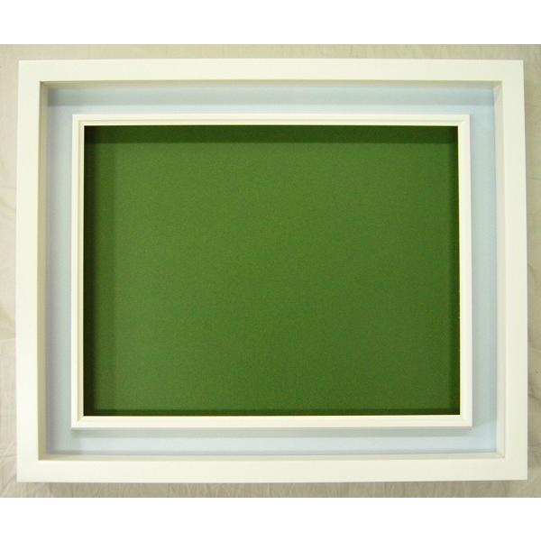 額縁 油彩額 油絵額縁 木製フレーム アクリル 3441N サイズWF3号|touo|02
